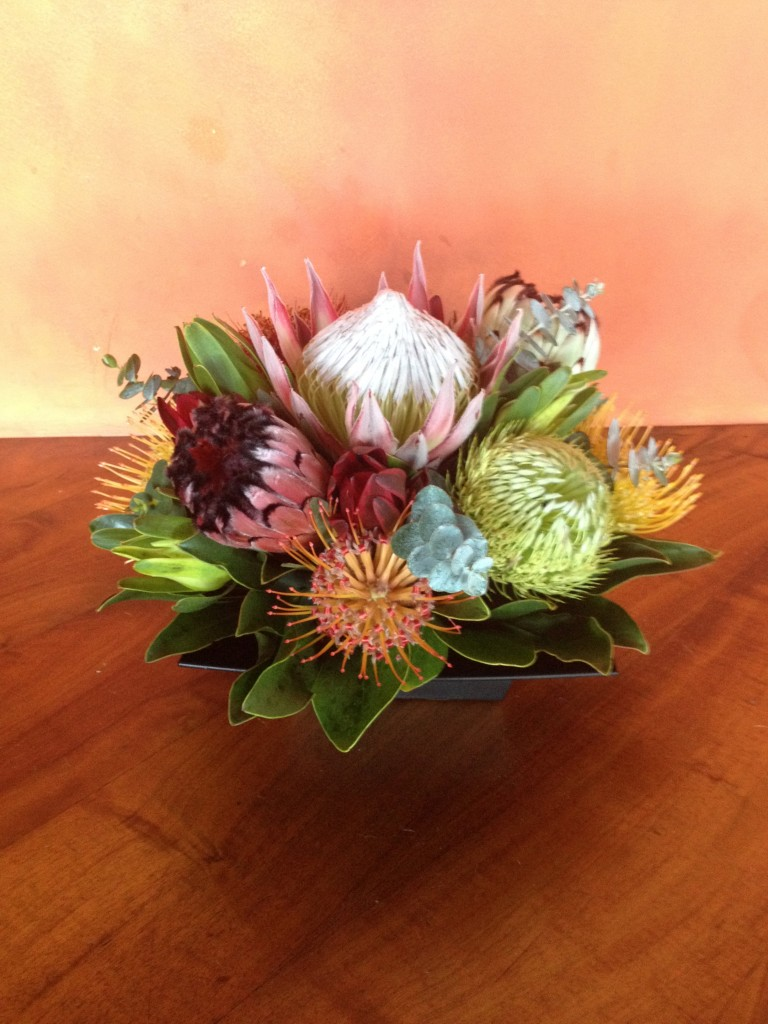 Protea Floral Arrangement Head High Tropicals